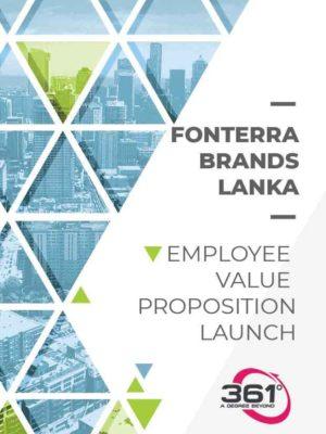 Fonterra Employee Value Proposition Launch