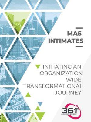 Initiating an organization-wide transformational journey